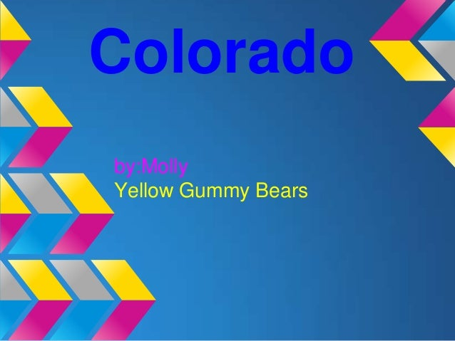 Coloradoby:MollyYellow Gummy Bears