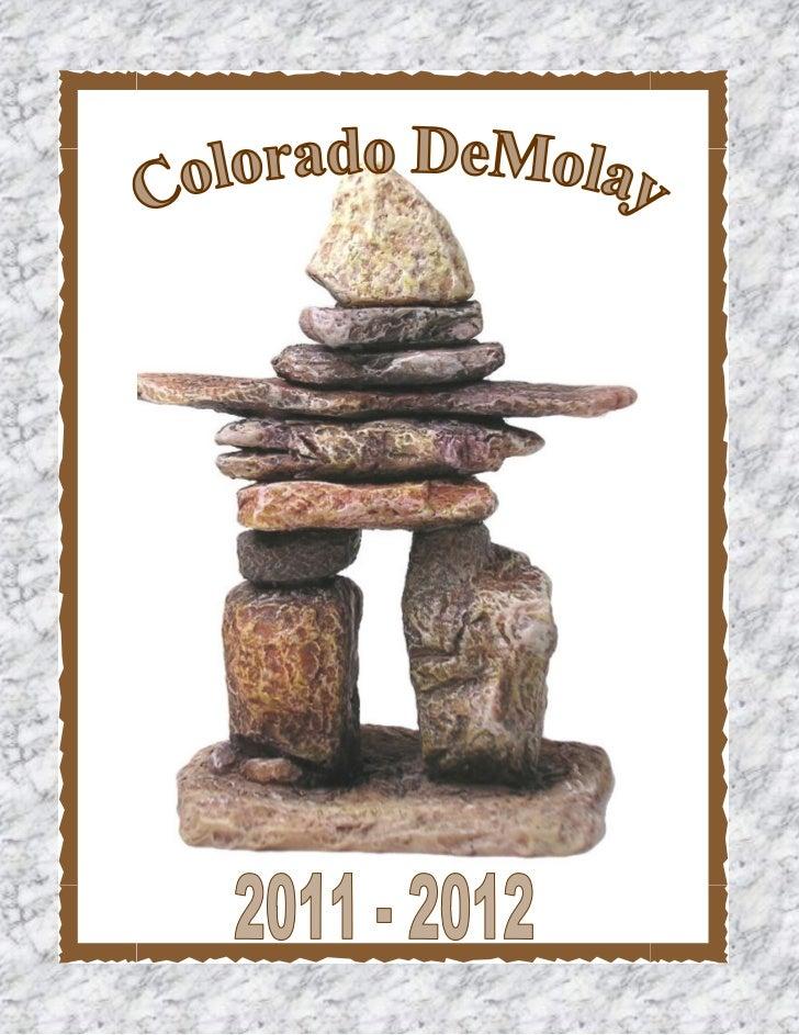 Colorado  DeMolay_ Yearbook_ 2011-2012