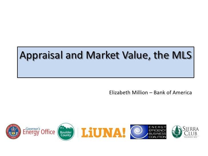 Colorado Finance Summit: Elizabeth Million, Bank of America, MLS