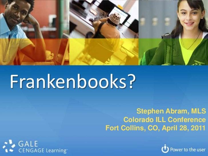 Colorado frankenbooks