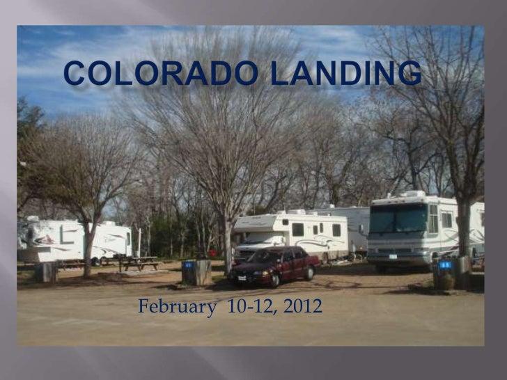 February 10-12, 2012