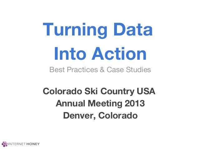 Colorado ski country annual meeting 2013