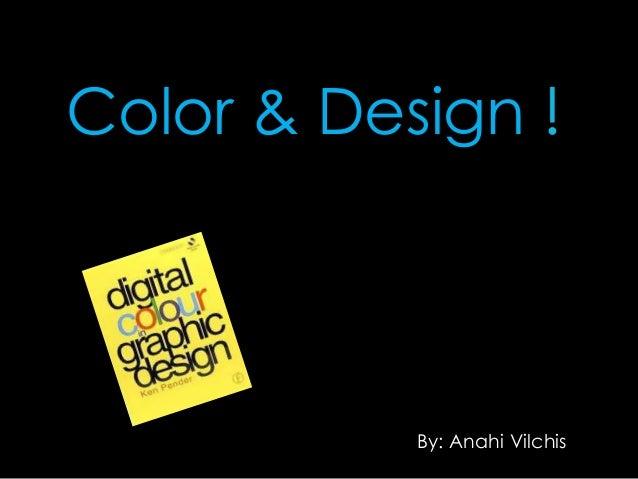 Color & design project ! vilchis anahi