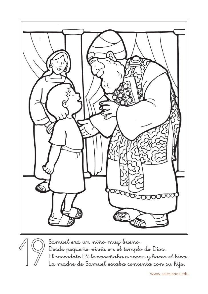 Hermosa Libre De Biblia Preescolar Para Colorear Colección - Dibujos ...
