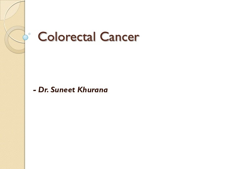 how to detect colorectal cancer