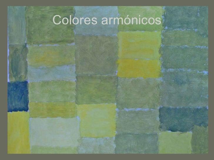 Colores armónicos