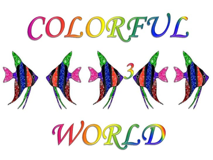 COLORFUL WORLD 3