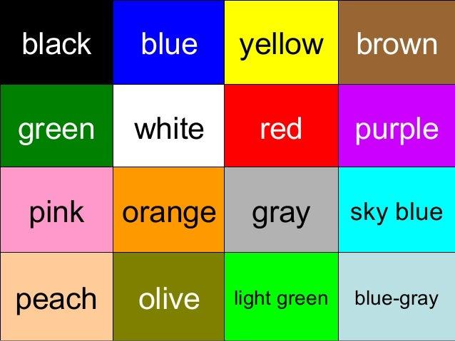 black    blue    yellow        browngreen   white      red         purplepink    orange     gray        sky bluepeach    o...