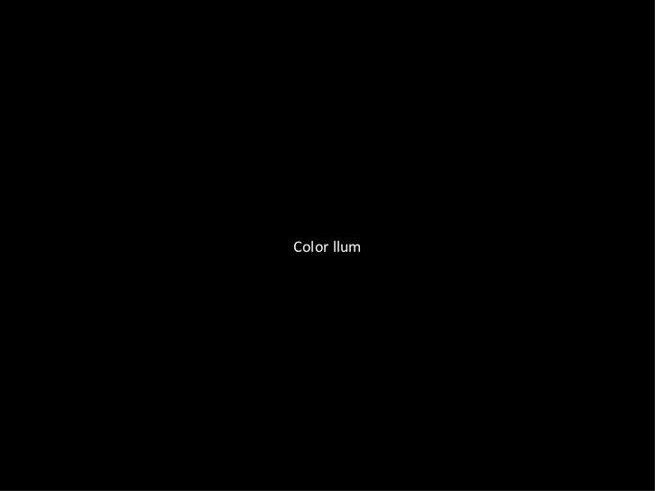 Color llum pigment