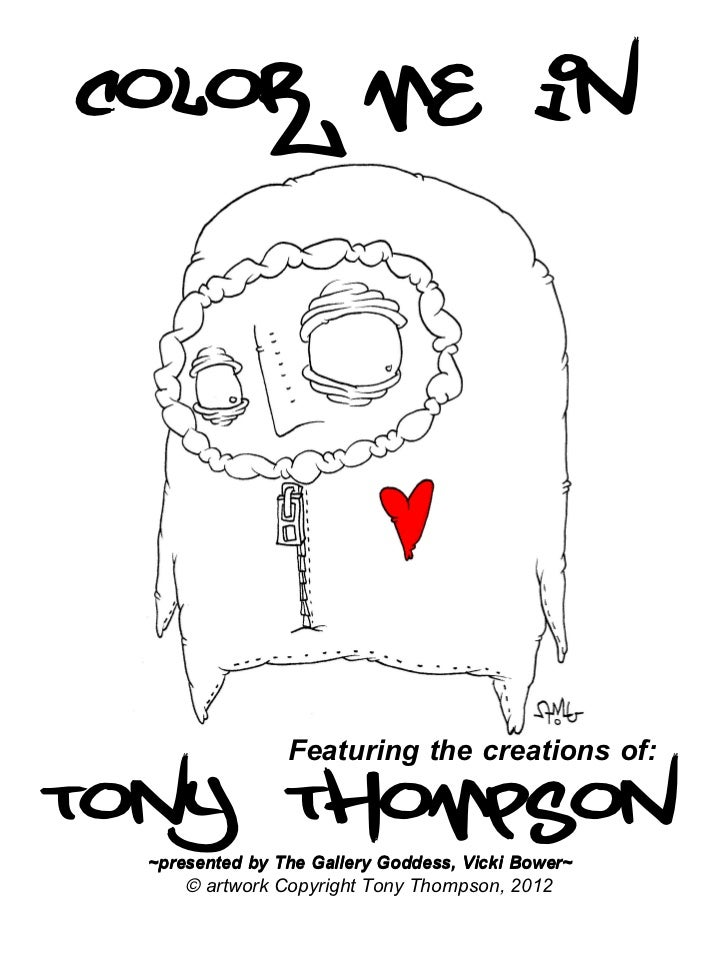 Color Me In by Tony Thompson