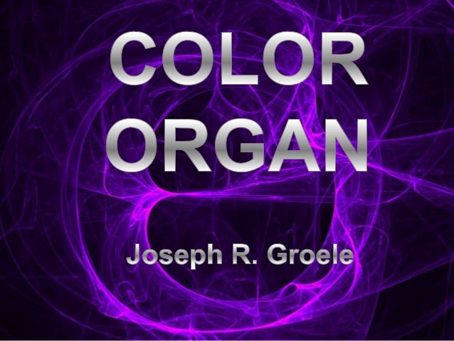 Topic: Physics - Electronics Purpose: Design a portable color organ that will take the frequencies from a song and represe...