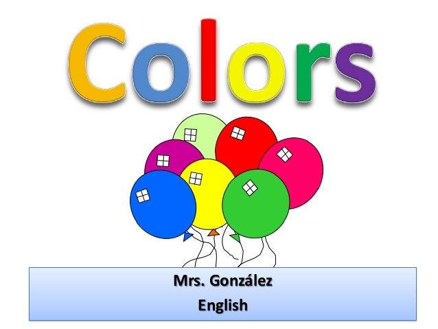 Mrs. González English