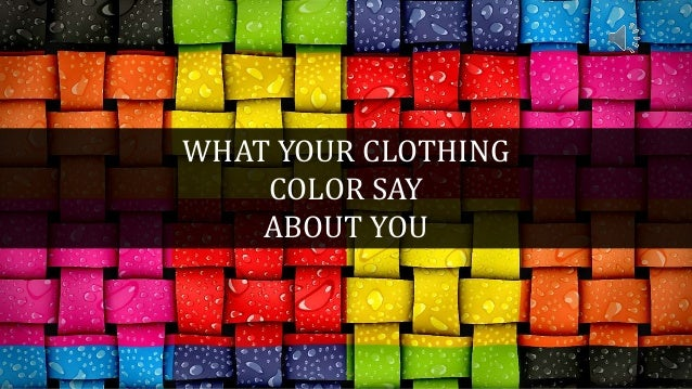 what your clothing color say color and it meaning men 39 s usa. Black Bedroom Furniture Sets. Home Design Ideas