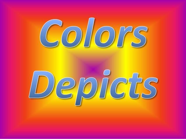 Colors depicts