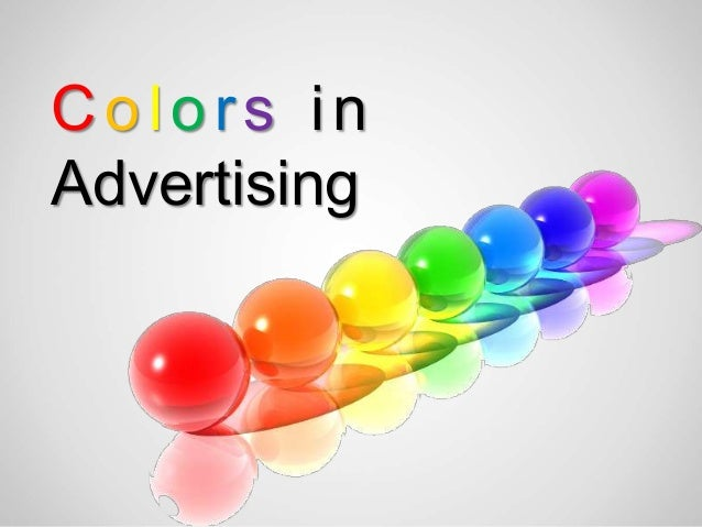 Colors inAdvertising