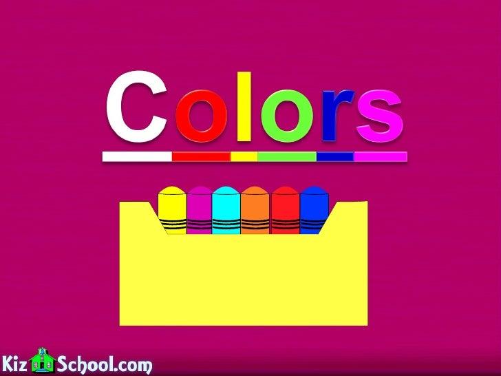Colors lesson
