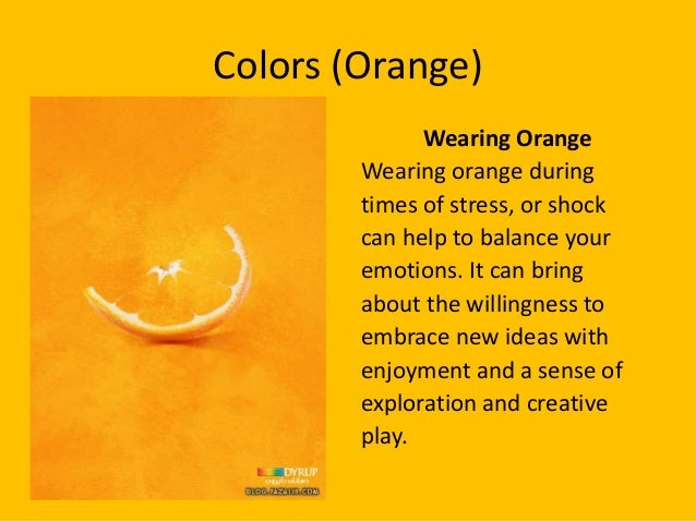 What Does The Color Orange Symbolize 28 Images What