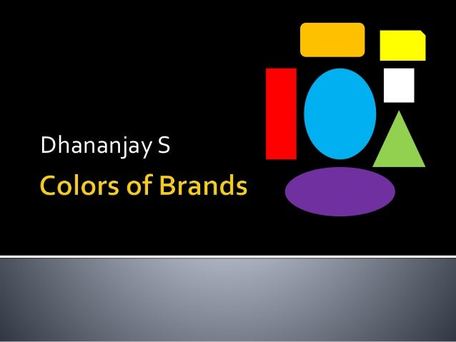 Colors of brand