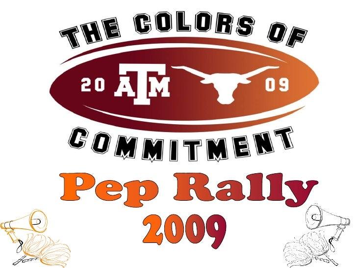 Pep Rally<br />2009<br />