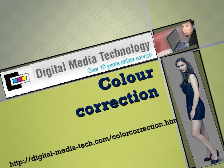 best colour correction services by group DMT at affordable cost