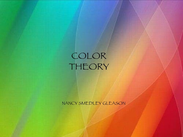 COLOR THEORY NANCY SMEDLEY GLEASON