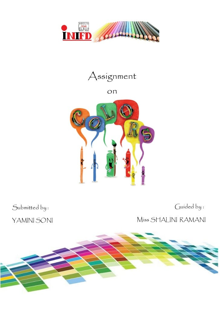 Assignment                    onSubmitted by :                          Guided by :YAMINI SONI                   Miss SHAL...
