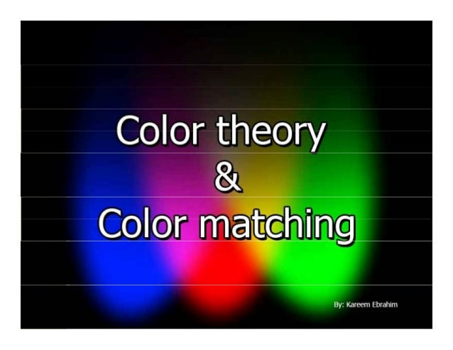 Why we learn color theory Knowing how colors are created and how g they relate to each other lets you work more effectivel...