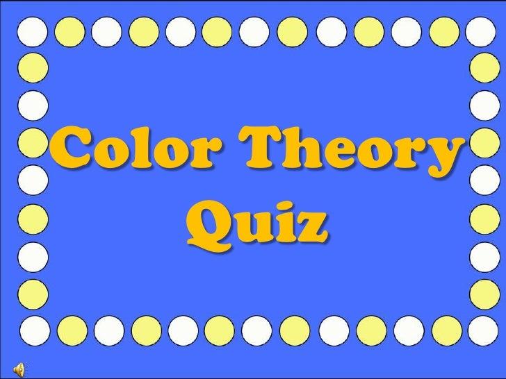 Color Theory Quiz<br />