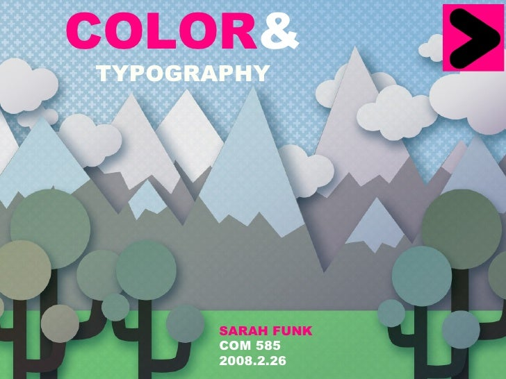 Color&Type