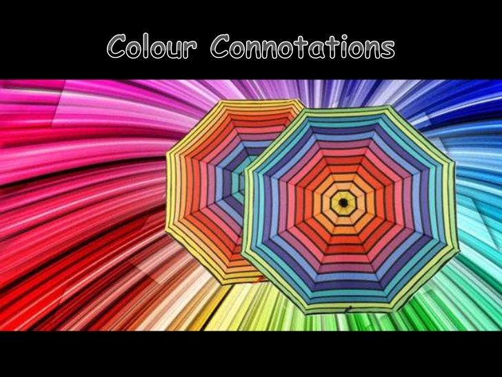 Colour connotations1