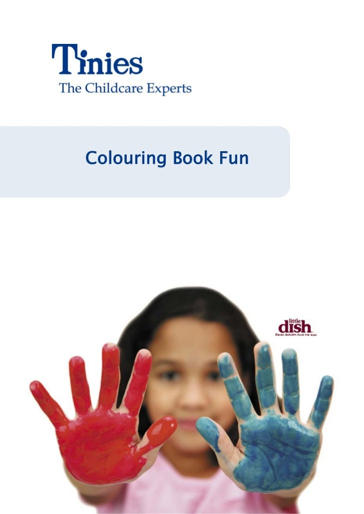 Colouring Fun book for childrens