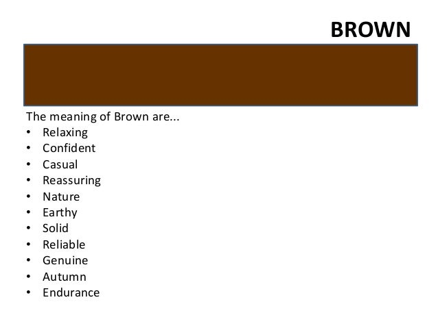 Browning Logo Meaning Brownthe Meaning of Brown Are