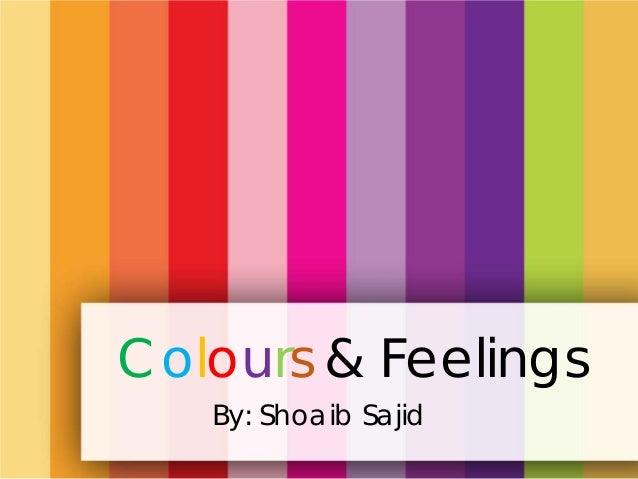 Colours Feelings