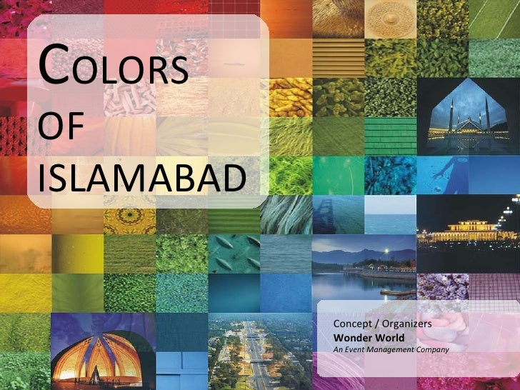 Colours Of Islamabad