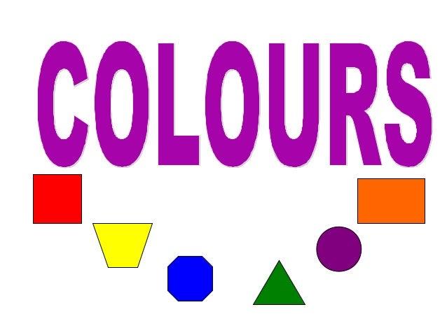 Colours ppt