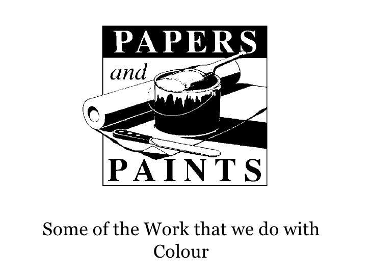 Colour Surveys