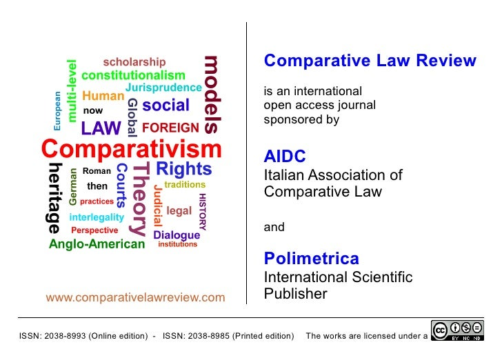 Comparative Law Review                                                             is an international                    ...