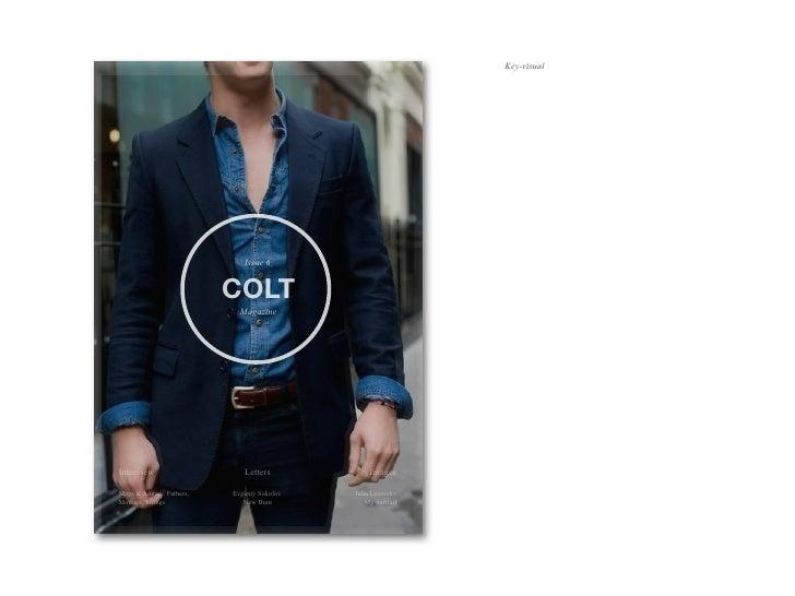 Key-visual                              Issue 6                           COLT                             MagazineIntervi...