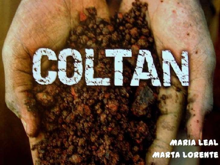 Índex Què és el Coltan? Conflicte Causes Conseqüències Conclusions: aportar alternatives o solucions