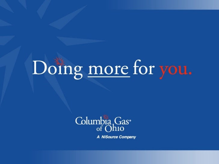 Columbia Gas   Doing More For Toledo