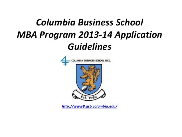 columbia master class essay Essay 2: columbia business school's students participate in industry  in project  based master classes and in school year internships.