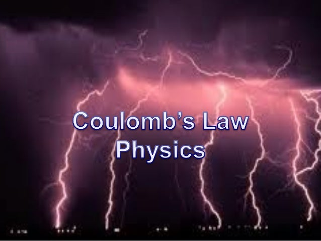 Columbs law pp