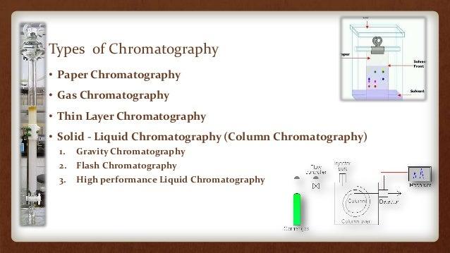 Flash Chromatography Paper Flash Chromatography 3