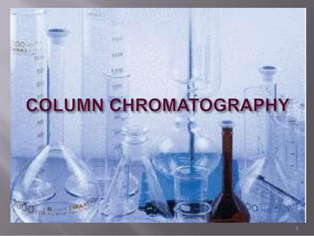 column chromatography cracks