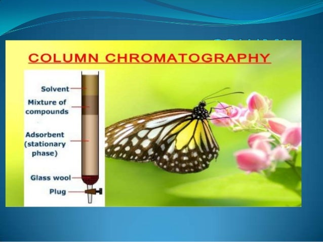 Introduction To use column as stationary phase . Based on nature of stationary phase it classified into two types. •Column...