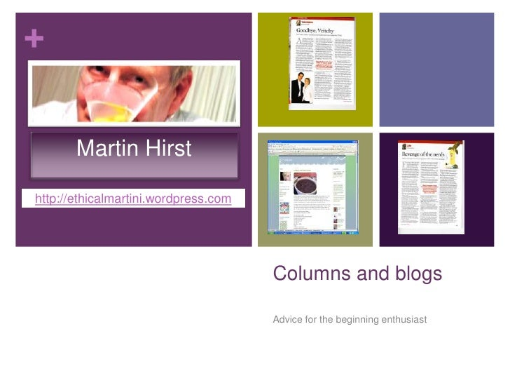 Columns and blogs 2010