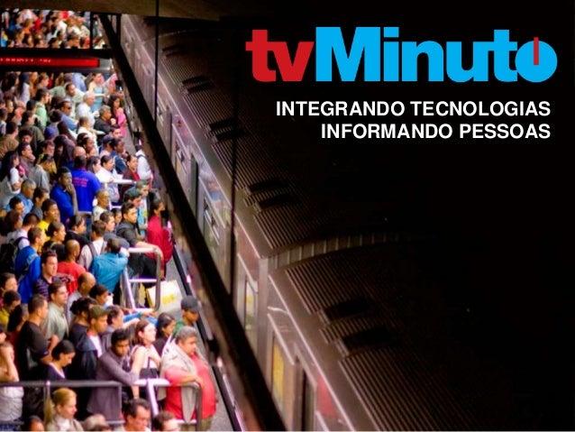 INTEGRANDO TECNOLOGIAS INFORMANDO PESSOAS