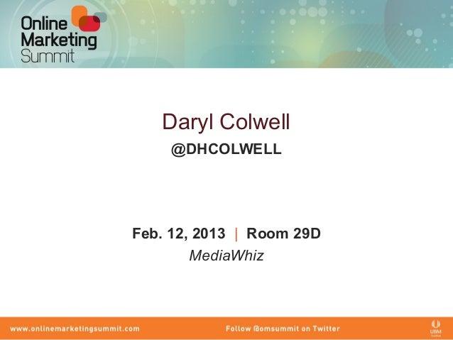 MediaWhiz POV: Content Marketing Like a Pro, Tactics and Techniques.