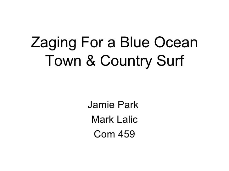Zaging For a Blue Ocean Town & Country Surf Jamie Park  Mark Lalic Com 459