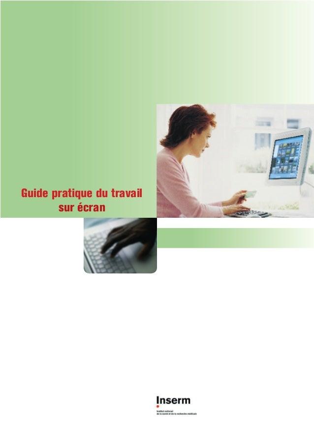 Guide pratique du travail       sur écran